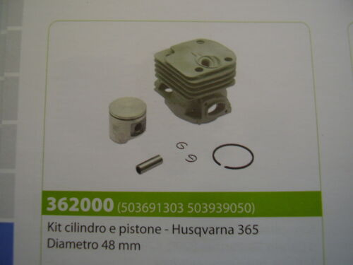 Piston Cylinder Kit Husqvarna 365 48mm Diameter