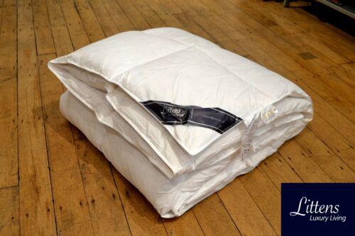 Super King Size Duck Feather & Down Duvet Quilt, 230TC Cotton Casing, 15% Down