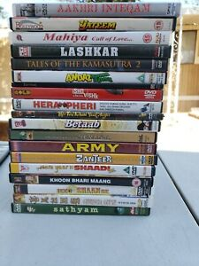 Bollywood-dvd-lot-all-in-great-condition-and-some-awesome-titles-Mix-lot