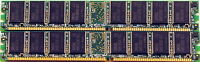 2gb (2 X 1gb) Ddr 400 Dimm Pc 3200 184 Pin Cl3 Memory For Desktop Computers