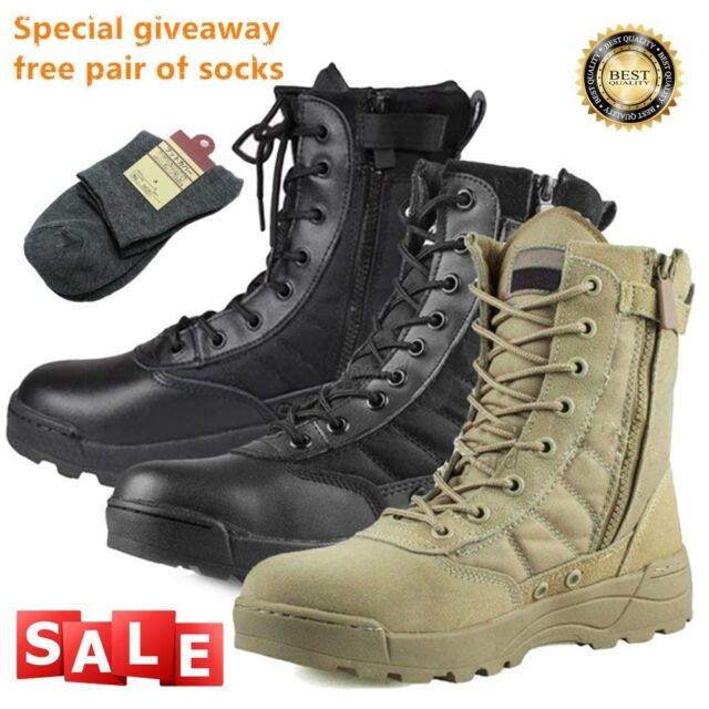 3affb5ac8d3 Men Military Duty Work Boots Forced Entry Tactical Deployment Boot Shoes  Combat