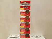 Freshly 15x Panasonic Cr2025 Lithium Battery 3v Coin Cell Exp 2025