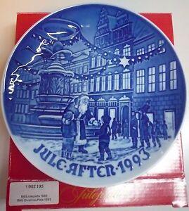 Bing & Grondahl Piatto di Natale 1993 - Christmas Plate - 1902193  NUOVO CON BOX
