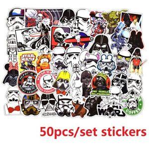 50pcs-Lot-Star-Wars-Darth-Vader-Sticker-Decal-for-Skateboard-Luggage-Laptop-Car