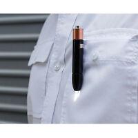 Kikkerland Aaa Battery Pen Led Flashlight Fl43 With Clip