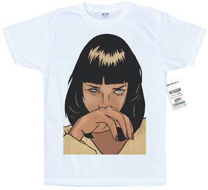 7c743bc3b Mia Wallace T shirt Artwork, #Pulp Fiction #Uma Thurman #hero in | eBay