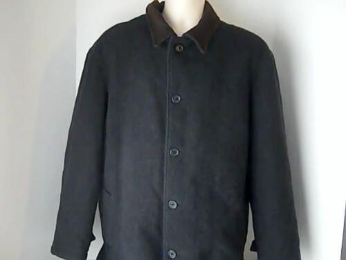 Tasso Elba Fine Mens Wear Mens L Black Winter Coat