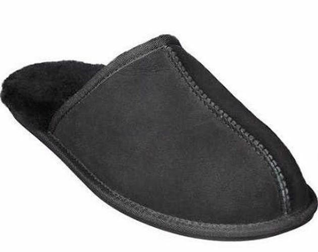 Kirkland Shearling Men's Slippers Black 7885231
