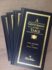 4 BROOKS BROTHERS How to be a Gentleman Full Volume- John Bridges & Bryan Curtis