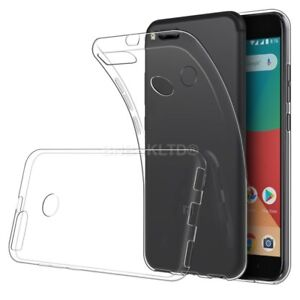 huge selection of 81a50 165c4 Details about Transparent Clear Silicone Slim Gel Case For Xiaomi Mi A1 (5X)