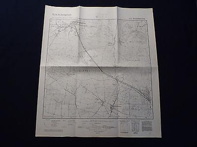 FäHig Landkarte Meßtischblatt 3943 Treuenbrietzen, Altes Lager, Lindow, Von 1941 Modische Und Attraktive Pakete