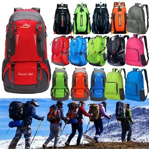 Travel-Hiking-Backpack-Waterproof-Outdoor-Luggage-Camping-Large-Rucksack-Bags
