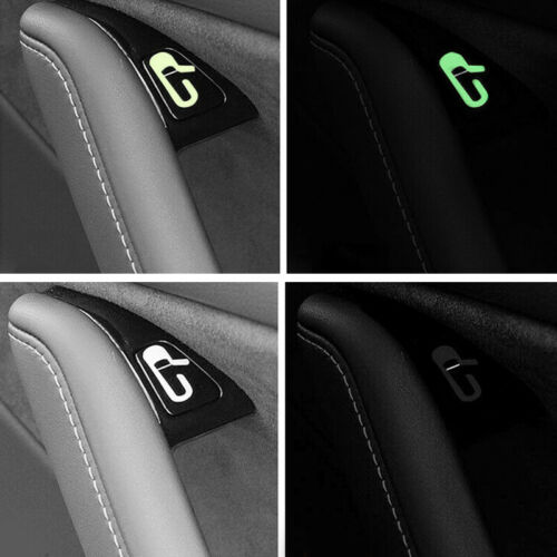 8pcs Car Door Open Exit Sticker Decal Open Button Reminder Fit for Tesla Model 3