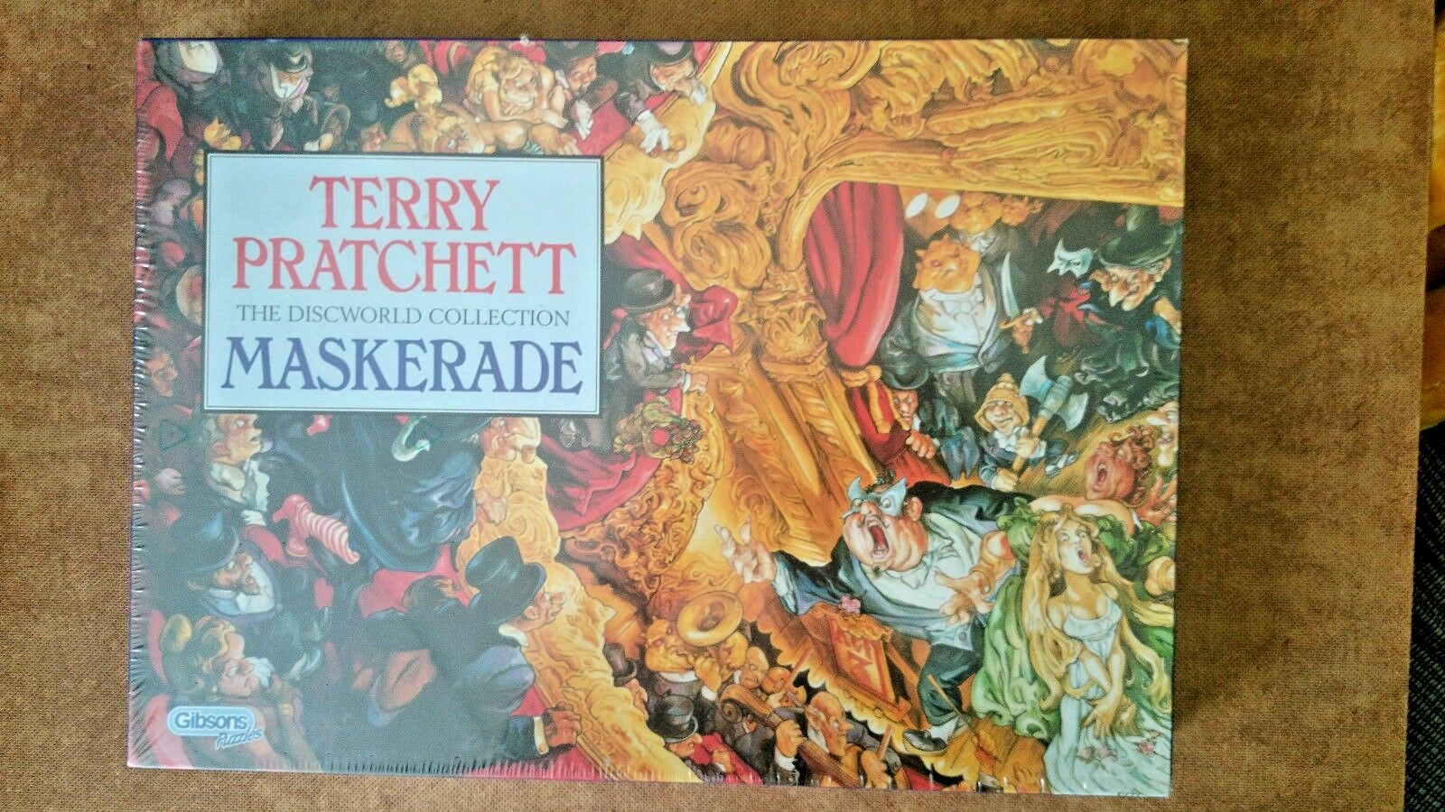 Terry Pratchett Maskerade 1000 Piece Jigsaw NEW and  SEALED