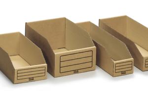 Regalkarton Lagerbox Sichtbox Lagerkarton Aufbewahrungsbox Breite 95 145 mm