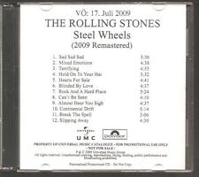 """ROLLING STONES """"Steel Wheels"""" German Acetate Promo CD RAR"""