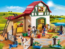 Playmobil - Ponyhof, Neu, Ovp, 6927