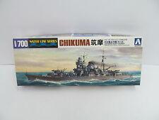MES-44818 Aoshima 31332 1:700 Chikuma Bausatz geöffnet,augenscheinlich komplett,