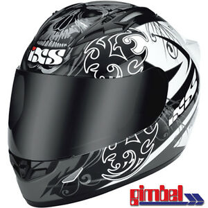 IXS-Helm-HX-408-034-DREAMRIDER-034-Carbon-Fiberglas-Motorradhelm-Gr-M-57-58