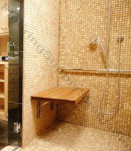 Delightful Image Is Loading Teak Shower Bench Made In The USA FSC