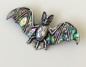 Unique-vintage-style-Bat-Brooch-amp-pendant
