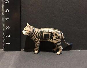 Kaiyodo-Furuta-Choco-Q-Pet-Animal-1-American-Shorthair-Cat-Brown-Figure-B
