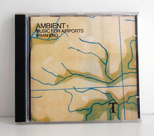 BRIAN-ENO-Ambient-1-Music-for-Airports-CD-EEGCD-17-UK-1990-NM-VG