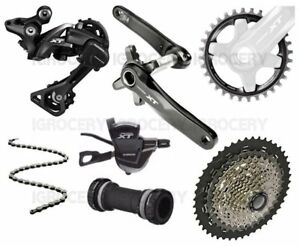 Details about Shimano Deore XT M8000 30T/175 Groupset 1x11 Single 11/46T New