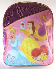 Buy Disney Multi Princess Backpack Rapunzel Ariel Aurora Belle ... acb1d899e749f