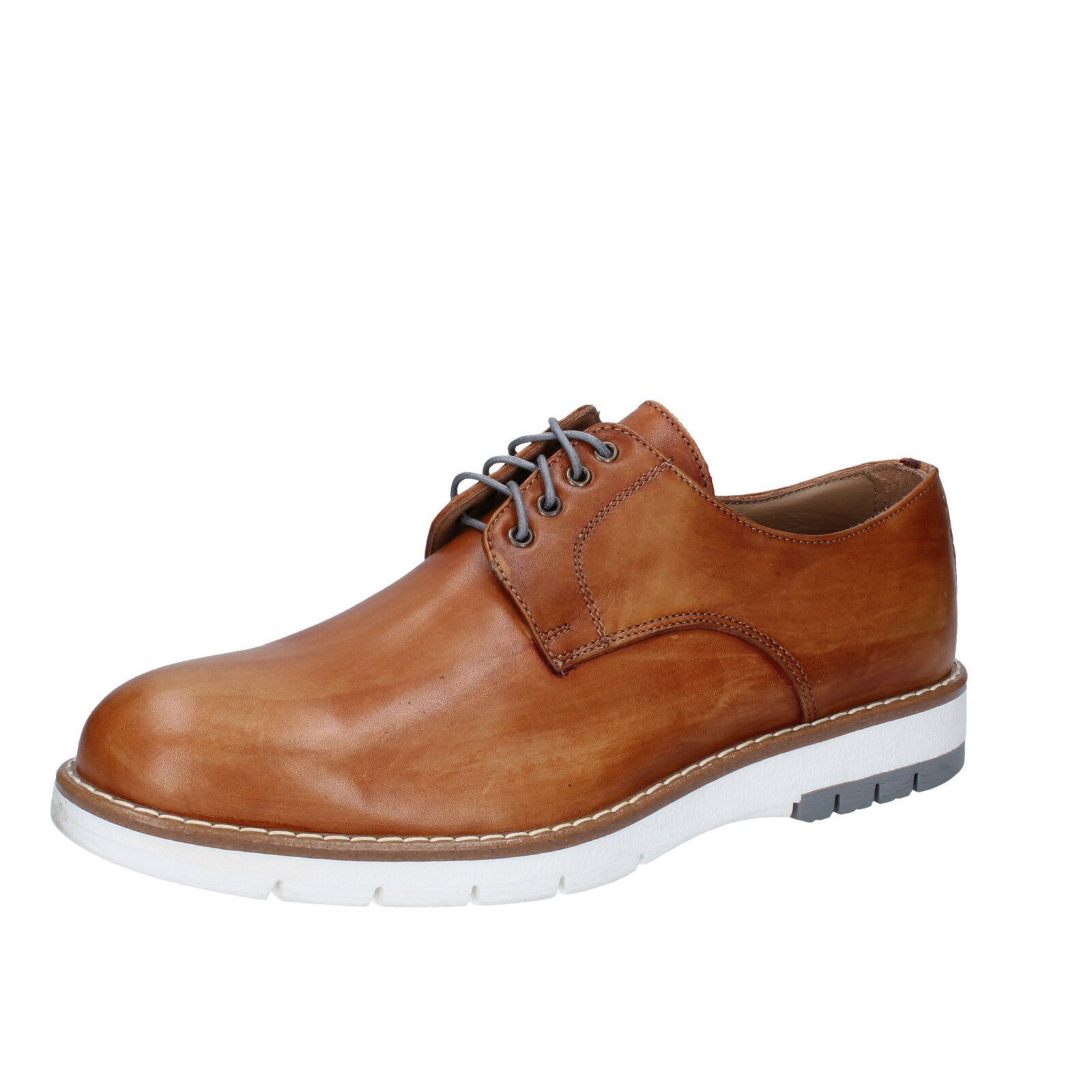 Men's shoes DI MELLA 10 () elegant brown leather BZ36-D