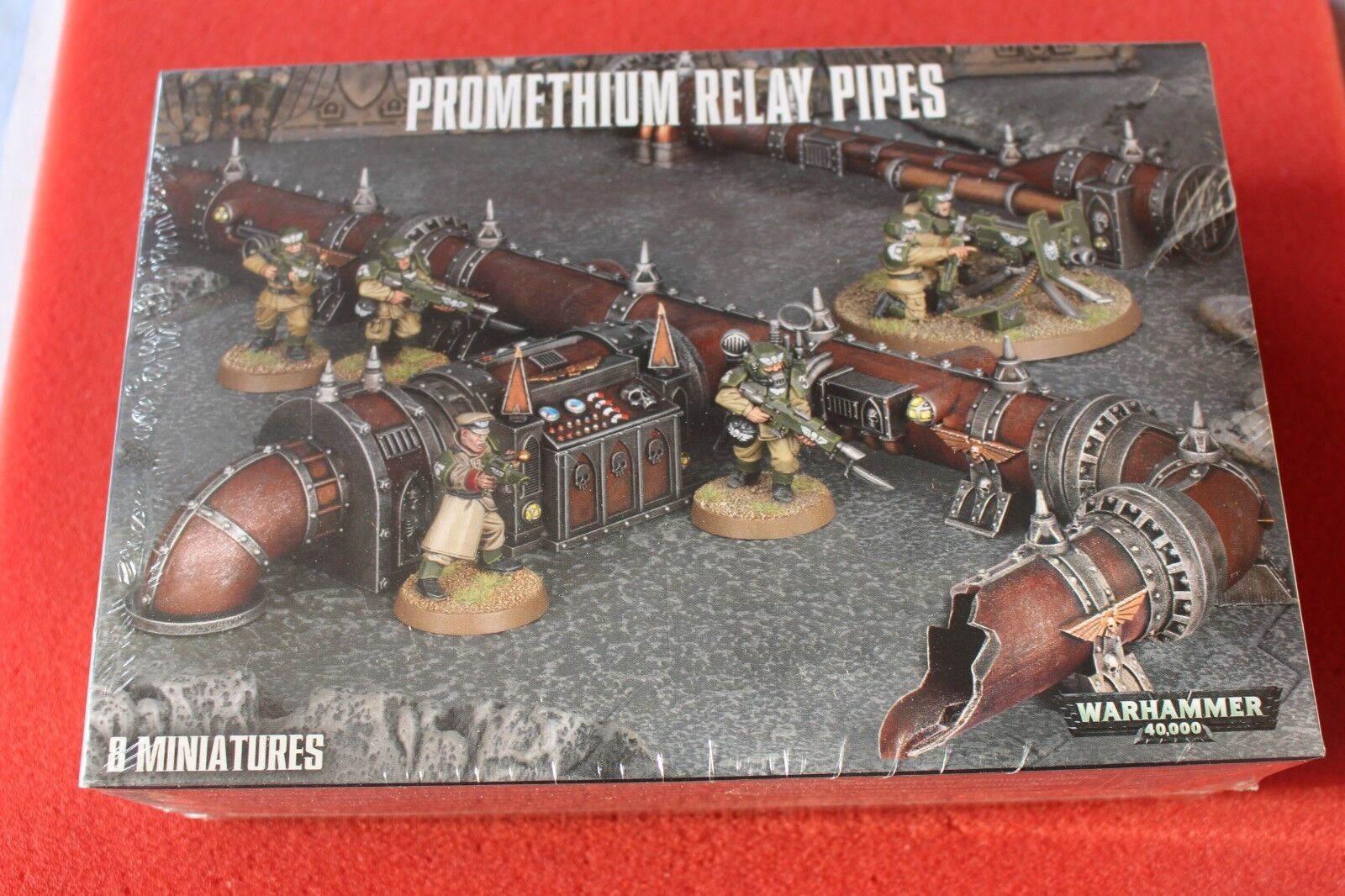 Games Workshop Warhammer 40k Promethium Relay Pipes BNIB GW Sealed Terrain WH40K