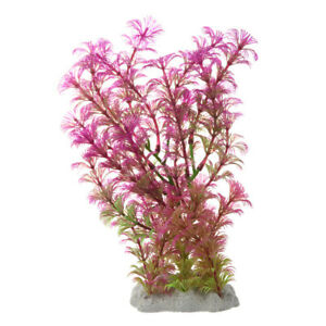 Plante-Artificielle-Aquatique-en-Plastique-Violet-vert-Decoration-Aquarium-X7K6