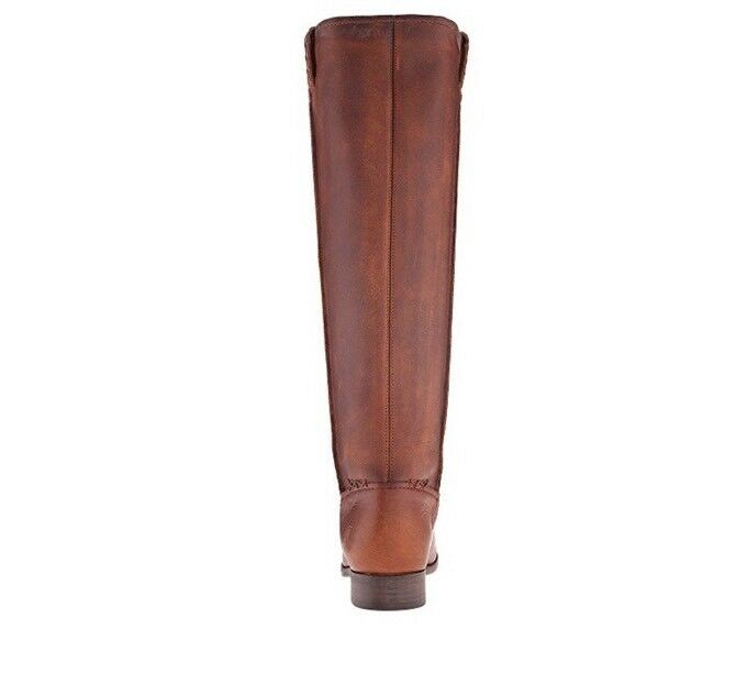 Authentic Frye leather Cara 7.5 congac tall Stiefel sz 7.5 Cara $398 f06ae3