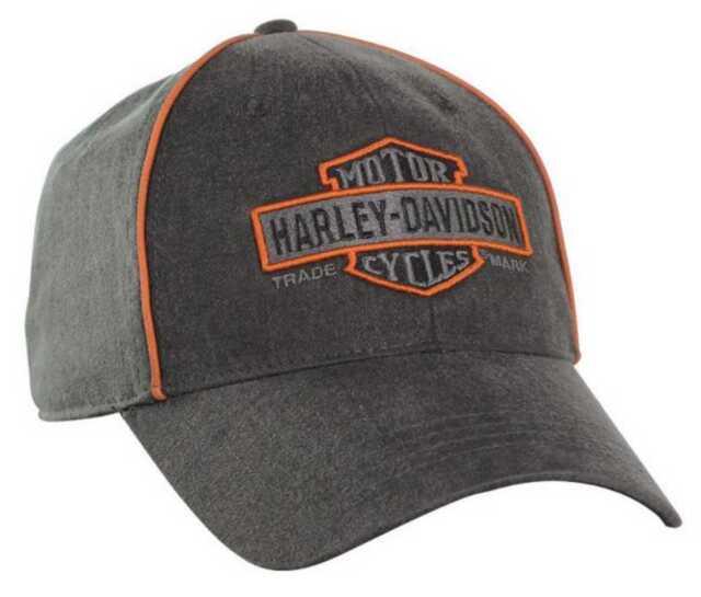 b3301a753b0 Harley-Davidson Men s Nostalgic Bar   Shield Baseball Cap Bc31380 ...