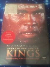 MUHAMMAD ALI When We Were Kings(DVD) The Untold Story of the Rumble... Brand New