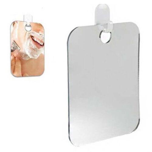 Fogless Anti Fog Shower Shaving Mirror Bathroom Fog-Free Acrylic Shavinga new
