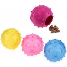Transparent Ball Treat Food Dispensing Puppy Dog Problem Solving Puzzle Toy