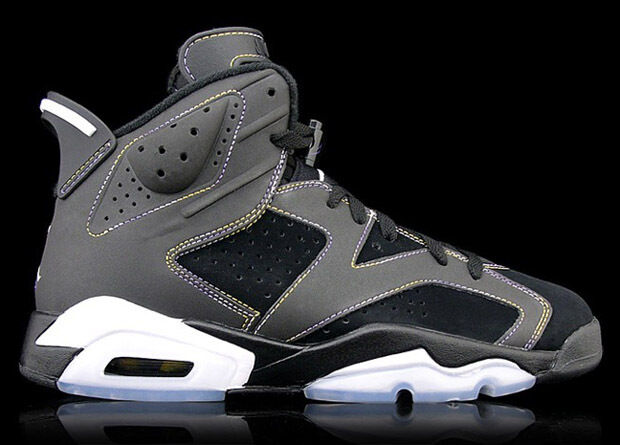 2010 Nike Air Jordan 6 VI Retro Lakers Size 9. 384664-002 LA Kobe