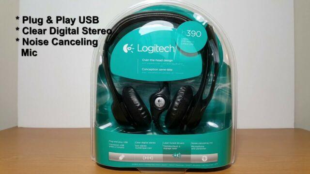 General/überholt Logitech H390 USB Headset