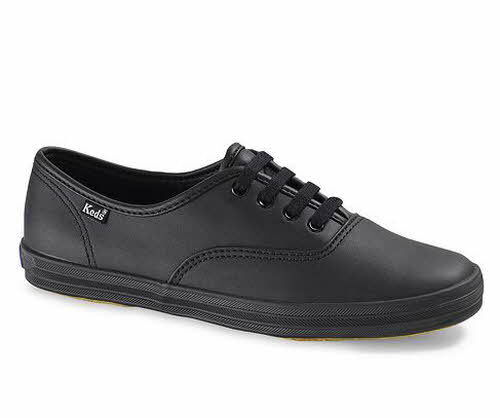 c54fdc7480403 Keds Wh45780 Women s Champion Original Leather Sneaker Black 7.5 M US for  sale online