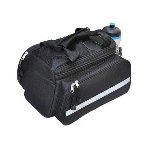 1PCS Bike Motorcycle Rear Rack Bag Tail Seat Trunk Pack Storage Handbag Pannier
