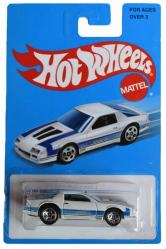 Hot Wheels 1985 Chevrolet Camaro IROC Z white