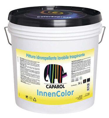 Bello Caparol Innencolor Pittura Idrorepellente Lavabile Traspirante 1/5/14 Lt Bello E Affascinante