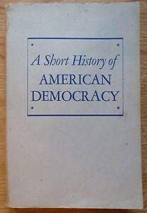 A-short-history-of-American-Democracy-John-Donald-HICKS