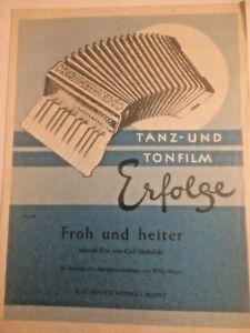 """Carl Michalski  :  """" Froh und Heiter """""""