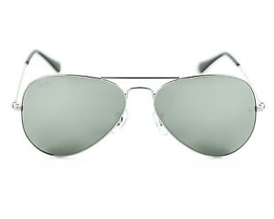 cb7a3e5e55 Ray Ban Classic Aviator Sunglasses Silver Mirror Rb3025 W3277 58 ...