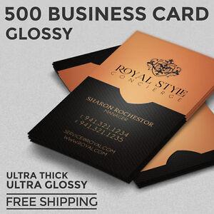 500 business card printing custom 16pt ultra gloss full color image is loading 500 business card printing custom 16pt ultra gloss colourmoves