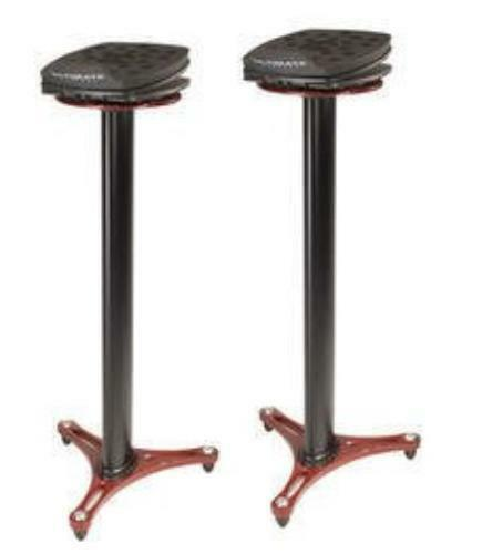 Ultimate MS100R Studio Monitor Stand rot Pair
