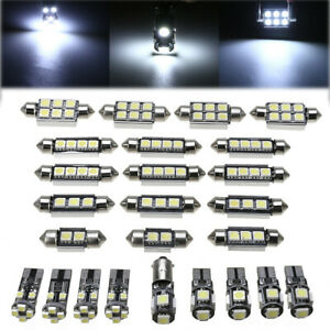 25X-12V-Auto-Car-Interior-White-LED-Lights-Bulbs-Kit-for-BMW-X5-E70-M-2007-2013