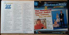 FLEETWOODS CHIFFONS AD LIBS FRANKIE AVALON LP: LA GRANDE STORIA DEL ROCK 4